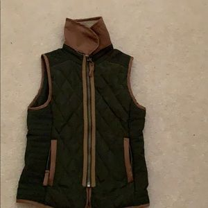 Copper Key Jackets & Coats - Olive green vest